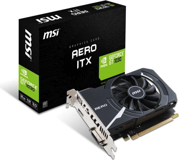 MSI GeForce GT 1030 AERO ITX 2GB w proline