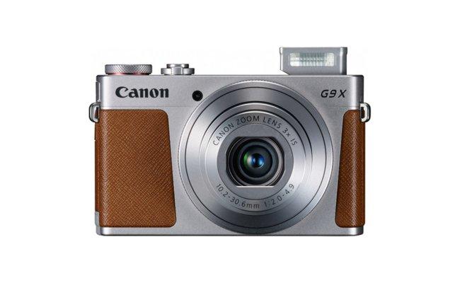 Aparat kompaktowy CANON PowerShot G9 X Srebrny