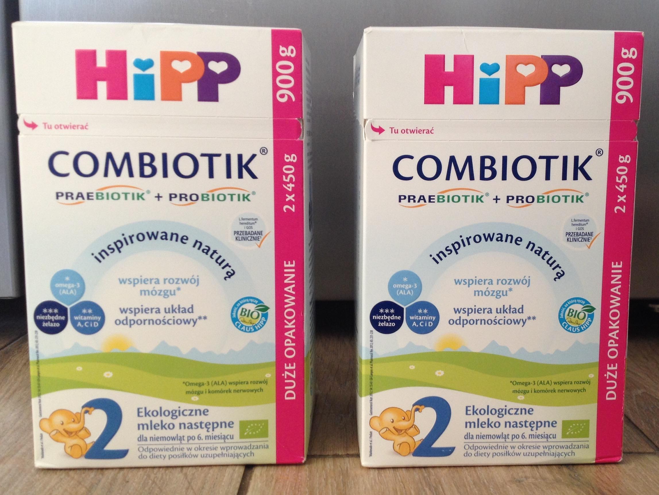 Mleko modyfikowane Hipp Combiotik 2, 900 g, Lidl