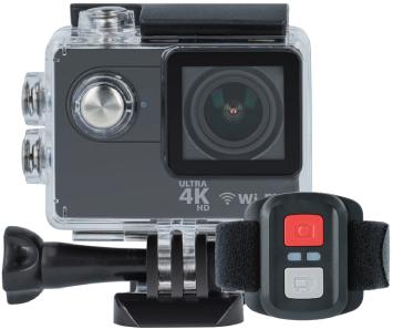 Kamera sportowa Forever Ultra HD 4K + zestaw akcesoriów (obudowa wodoodporna, pilot) Darmowa dostawa