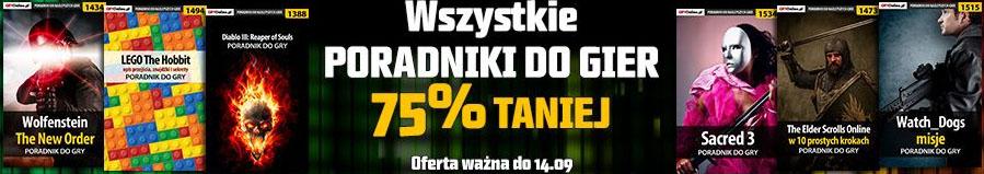 Wszystkie poradniki do gier 75% TANIEJ @ Muve.pl