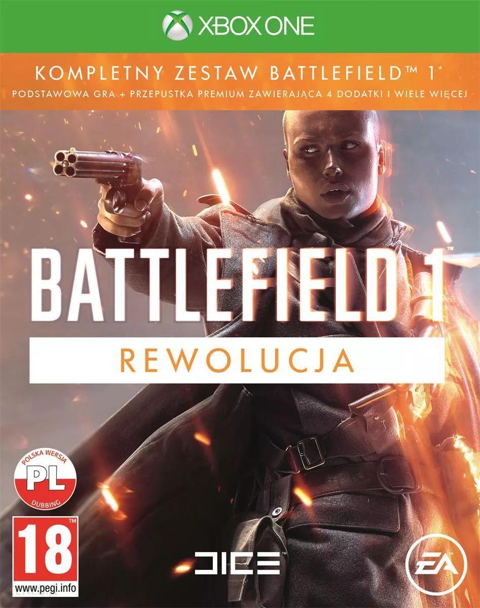Battlefield 1 Rewolucja + Battlefield 1943 na XOne za 8,59 zł w cdkeys
