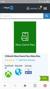 Xbox game pass 3mie.