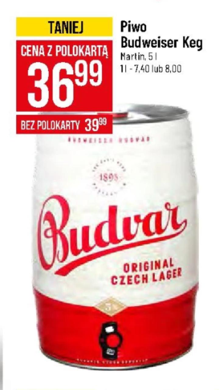 Piwo Budweiser 5L (PoloMarket)