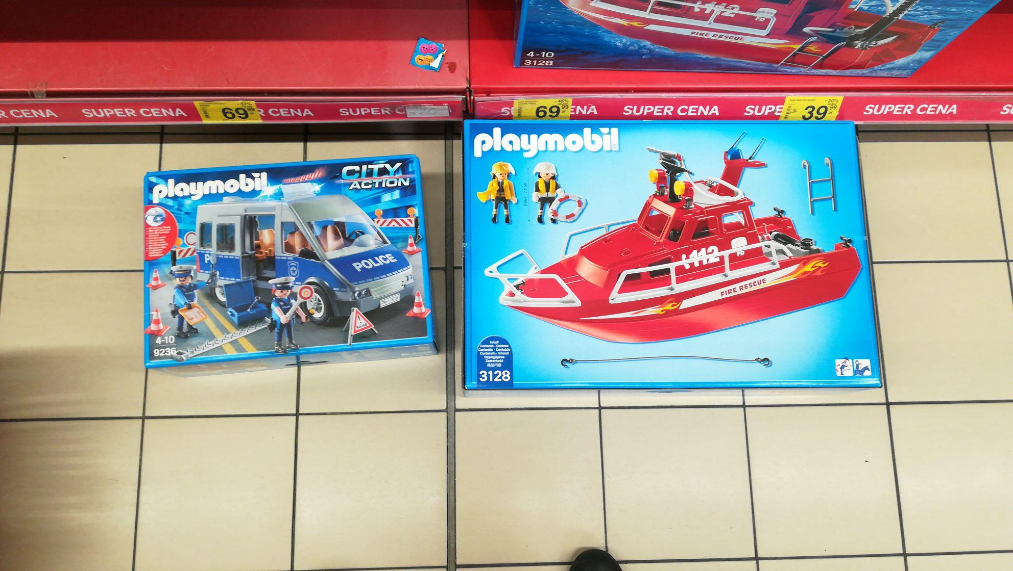 Playmobil 3128 motorowka