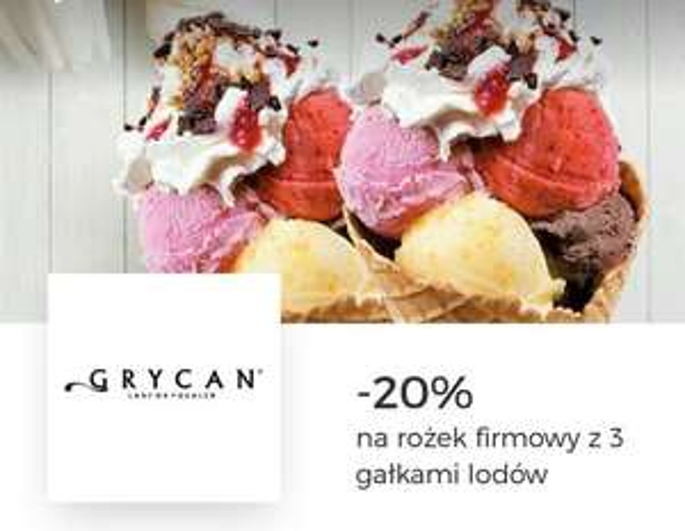 -20% Grycan rożek firmowy, 3 gałki we Wroclavi