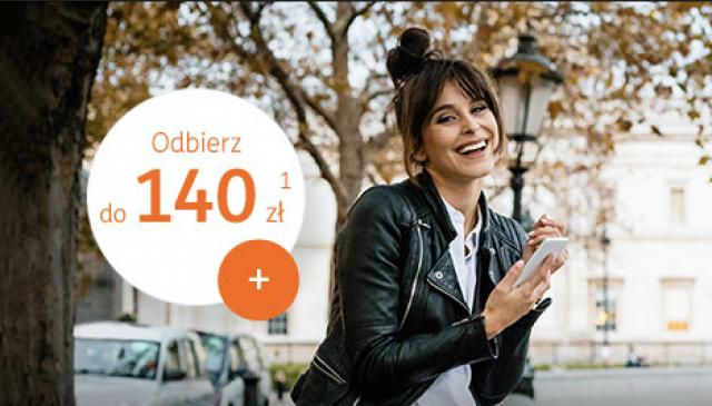 Konto w ING Bank Śląski 140 zł premii dla nowych klientów