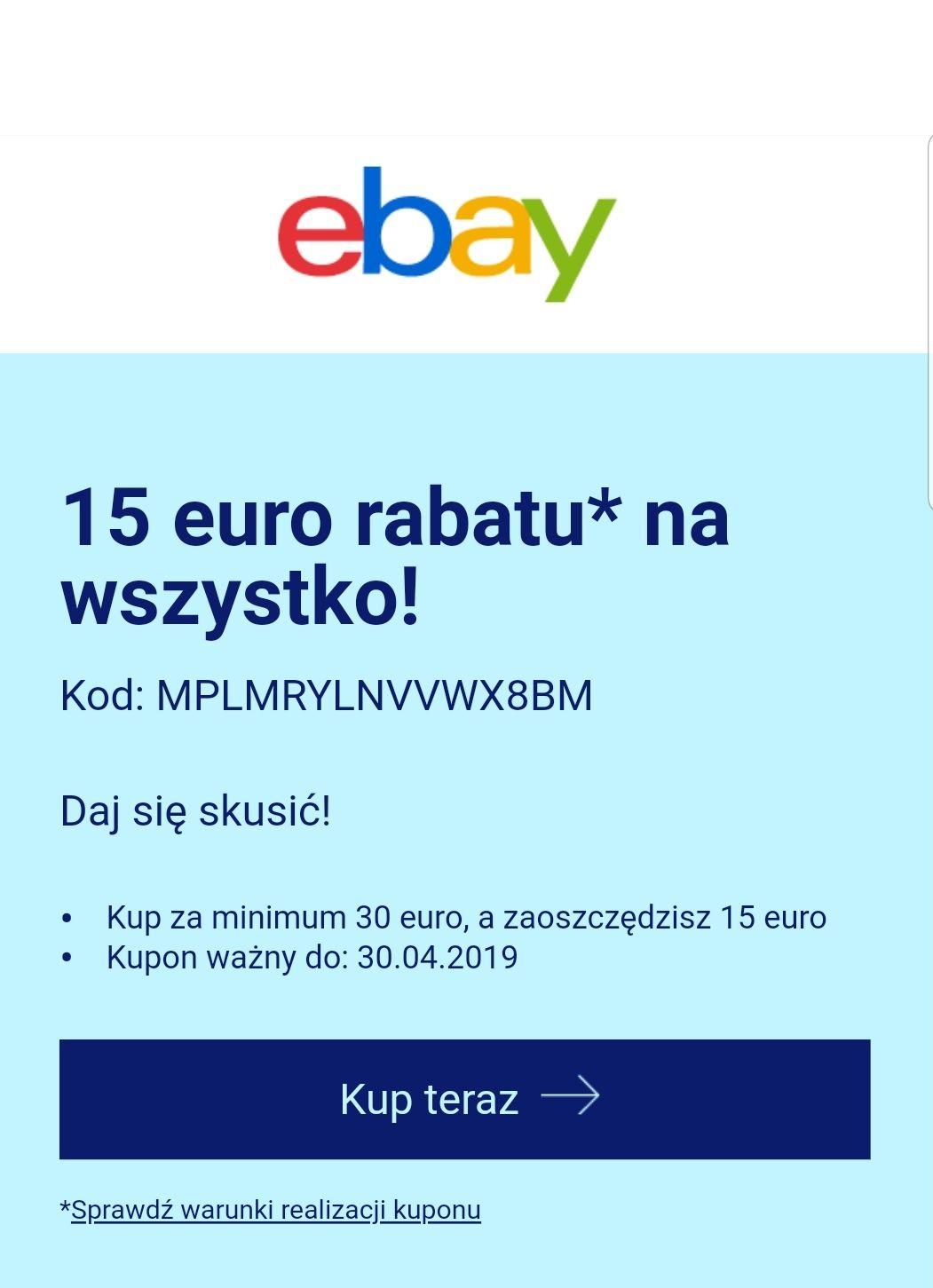 15 euro rabatuna wszystko!