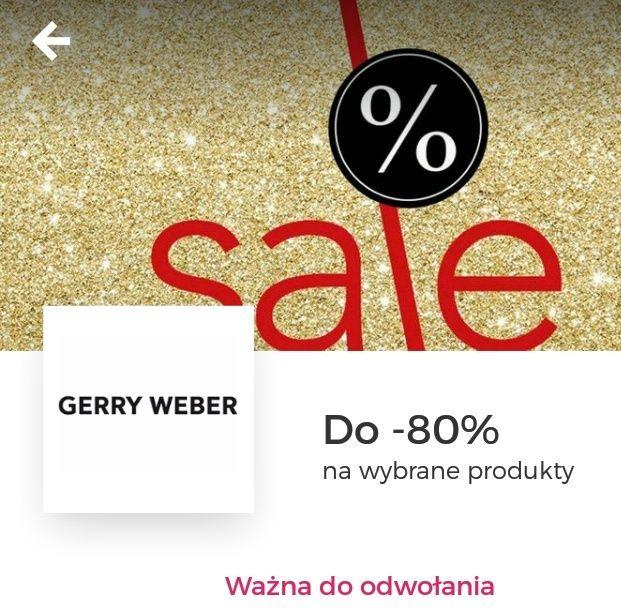 DAMSKA! do -88% na wyprzedaż Gerry Weber Wyprzedaż