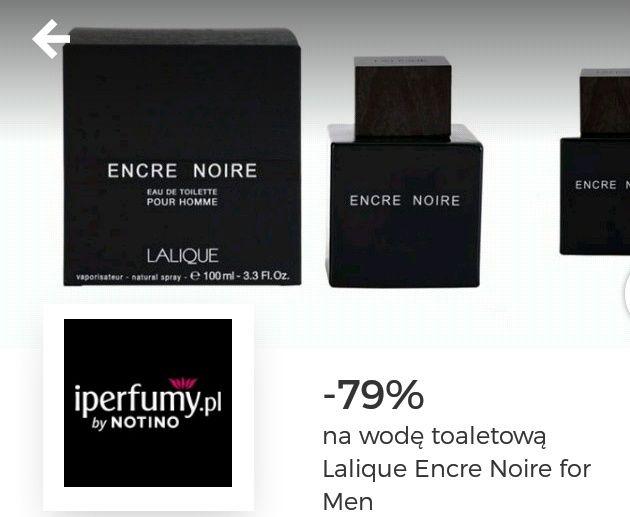 -79% plus 10% cashback na iperfumy.pl na męską wodę toaletową