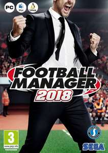 Football Manager 2018 PC/Mac