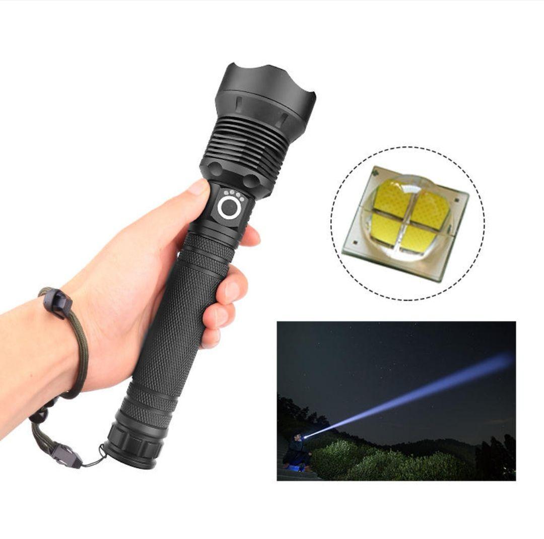 Latarka XANES® 1282(Zoom, micro USB, na 18650/26650)