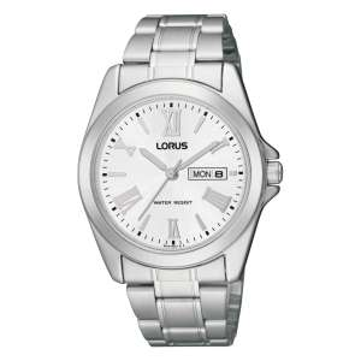 Zegarek Lorus RJ639AX9-WATCHES2U, klasyczny na bransolecie z datownikiem za 92 zł!