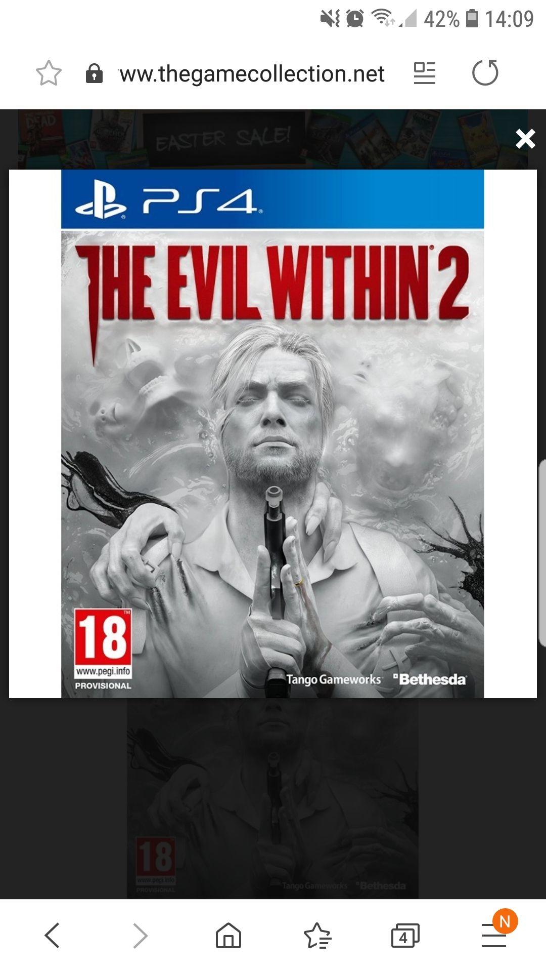 The evil within PS4 za 59zł z kosztem wysyłki wg Revoluta
