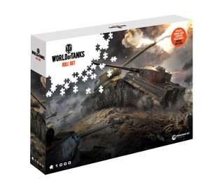 Puzzle World of Tanks/Warships 1000el. różne. Merlin.pl