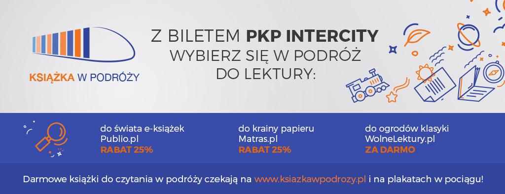 -25% na książki w Matras, Matras.pl oraz Publio.pl + Darmowe ebooki w pociągach PKP