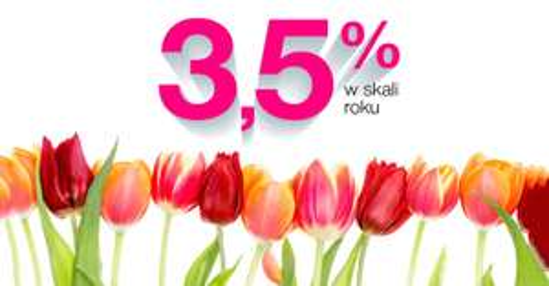 3,5% na Lokacie Wiosennej w Idea Banku