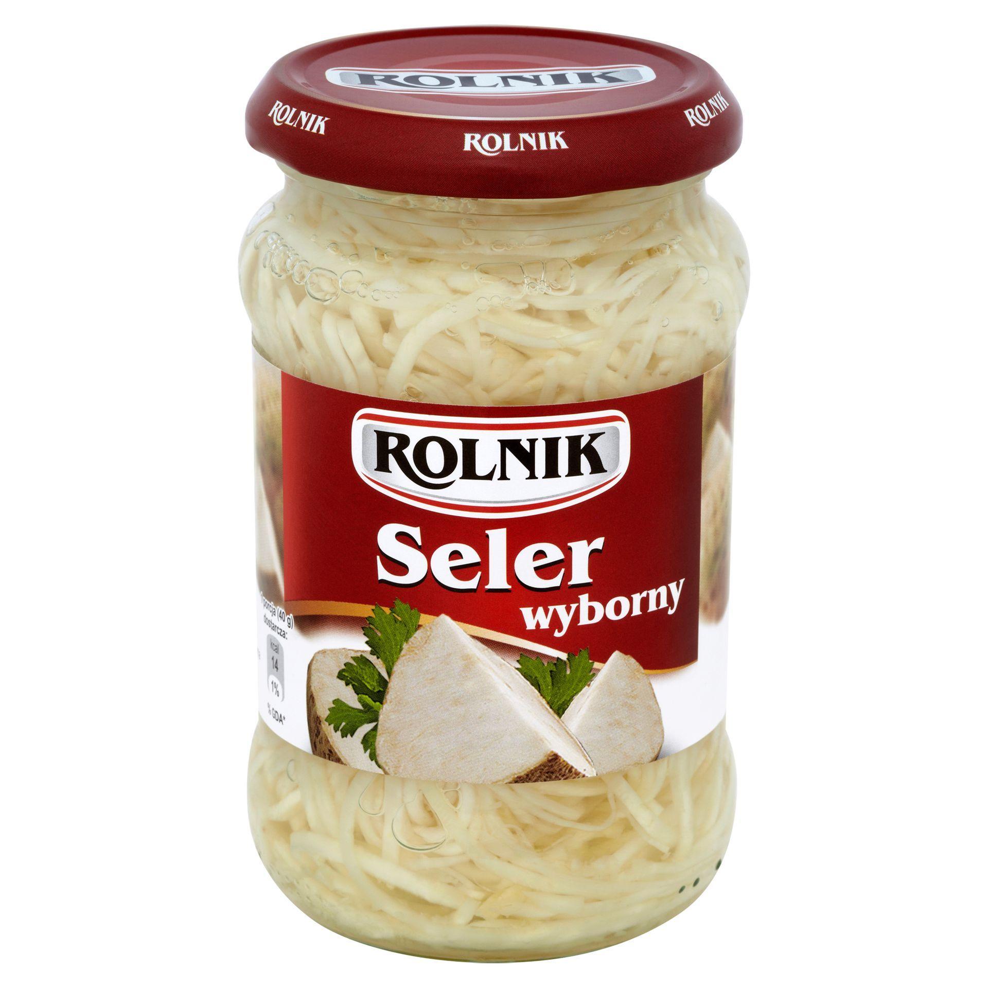 Seler Wyborny w zalewie 320g/370 ml, Rolnik, Selgros stacjonarnie od 25kwietnia