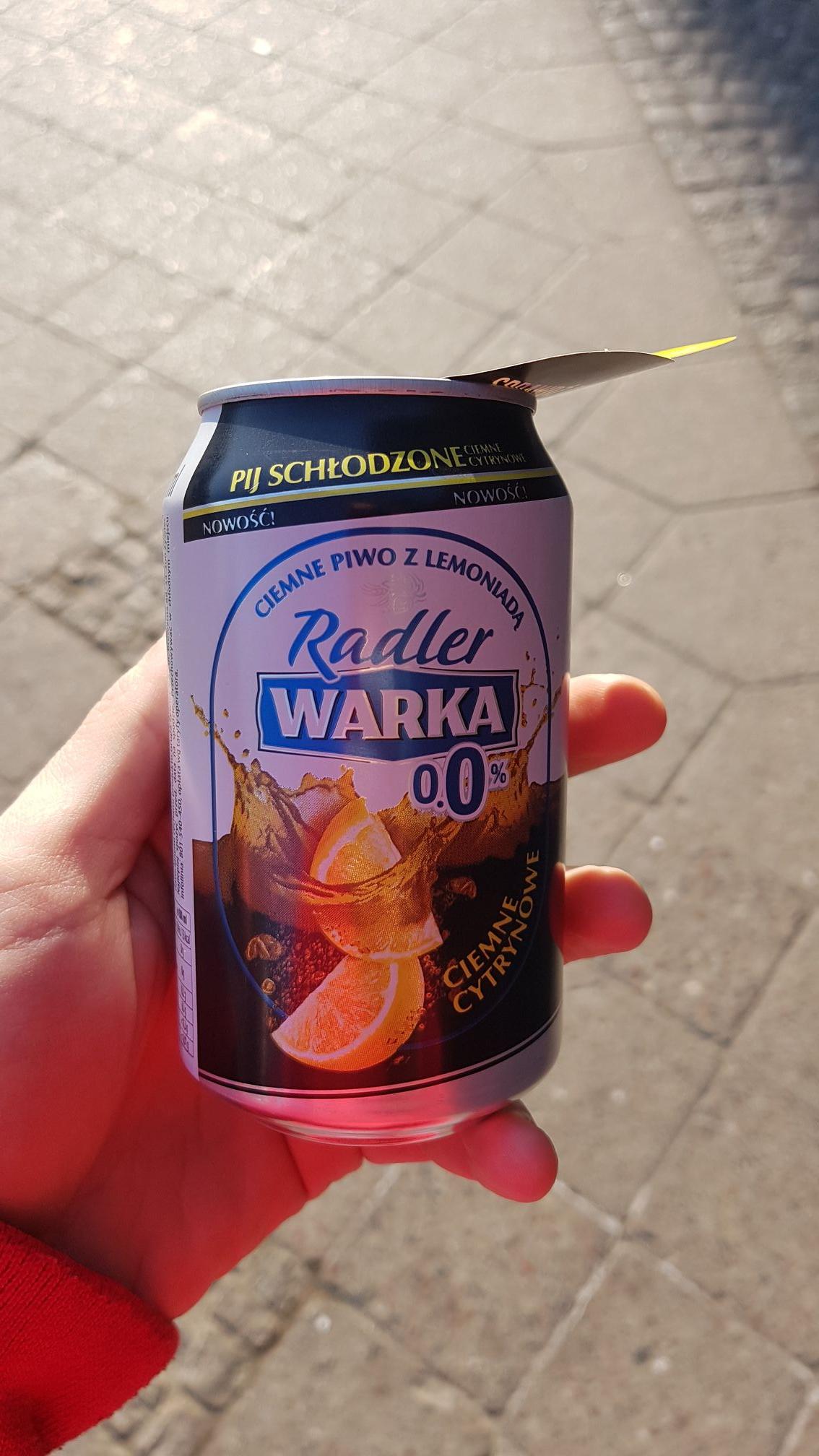 Darmowa Warka radler Gdańsk budynek LOT
