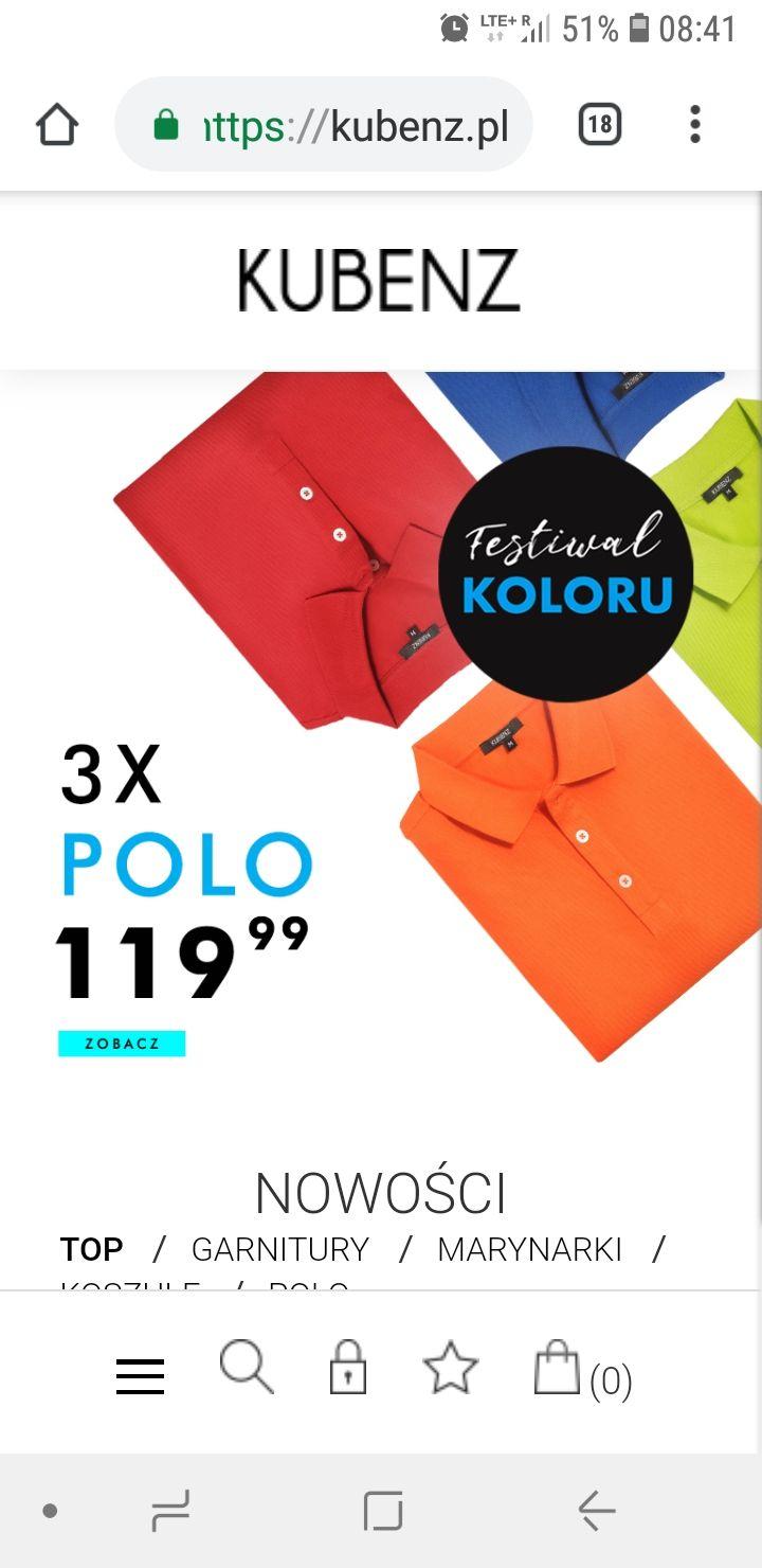 3x Polo Kubenz 119zl