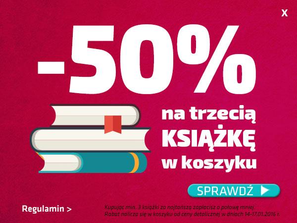 Trzecia książka 50% taniej @ Matras