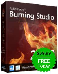 Ashampoo Burning Studio 2016 za darmo - tylko dzisiaj