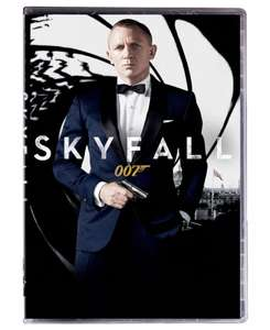 skyfall, quantum of solace i casino royale DVD