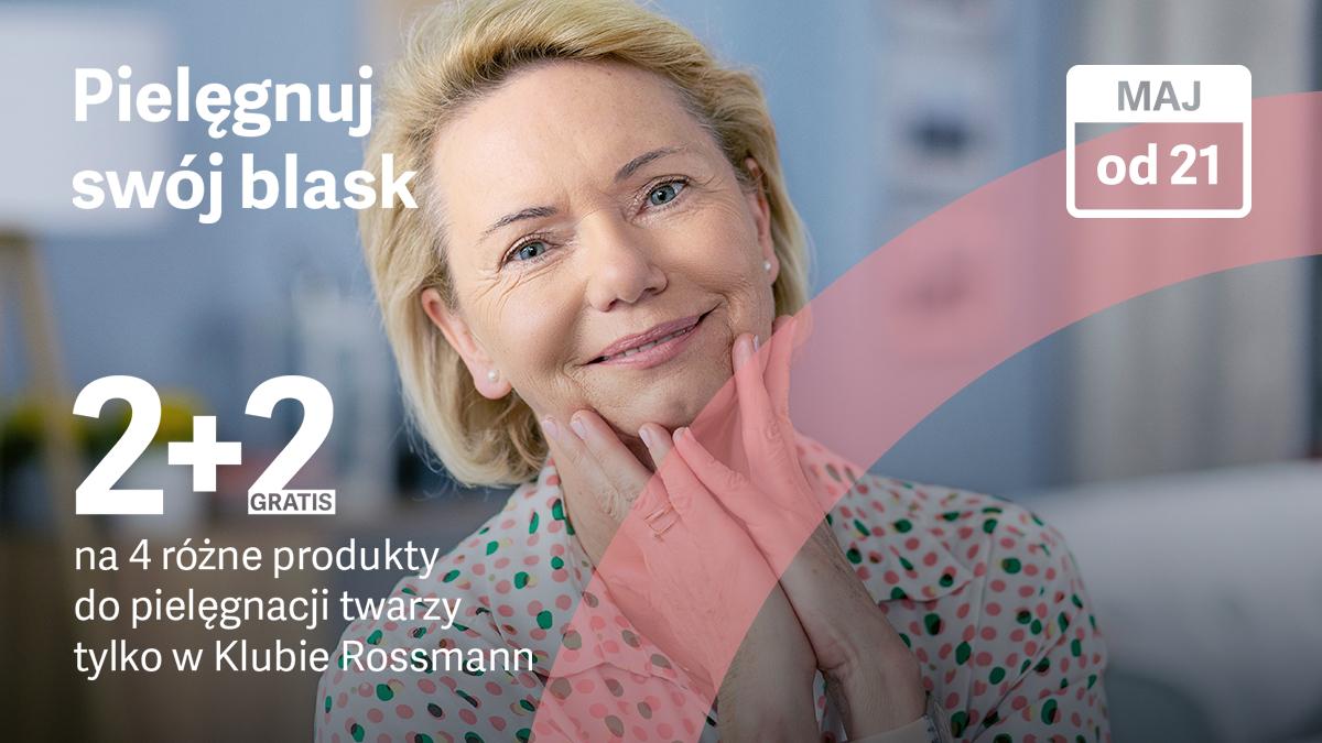Rossmann 2+2 pielęgnacja twarzy od 21 maja