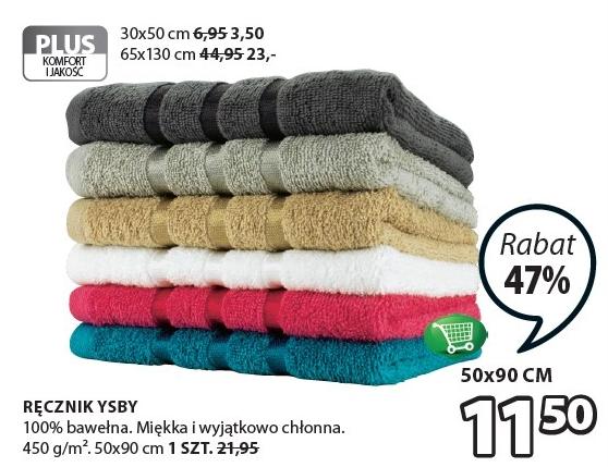 JYSK - Ręcznik YSBY 50x90 100% bawełna