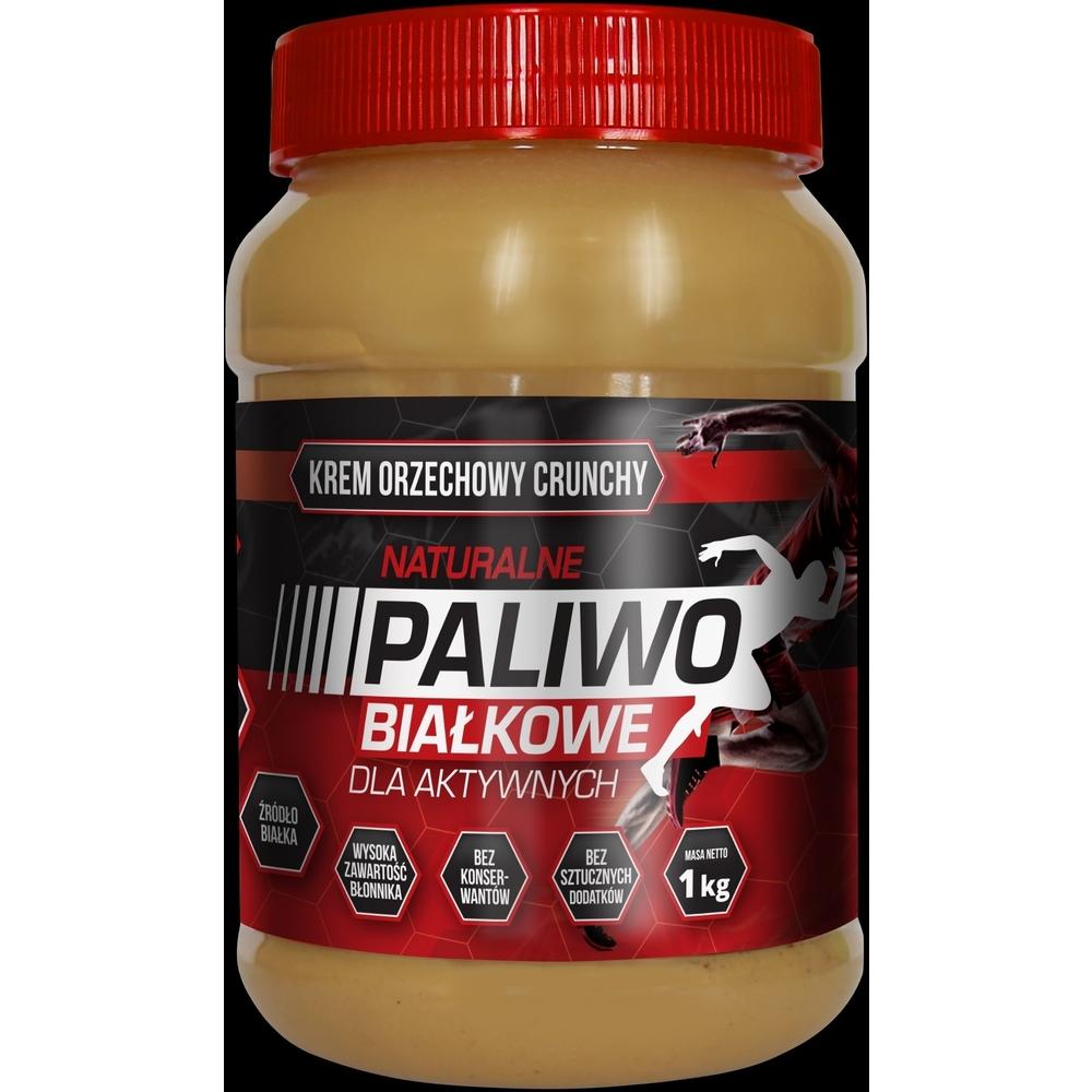 """Masło orzechowe crunchy """"Paliwo białkowe"""" 1 kg naturavena @ selgros"""