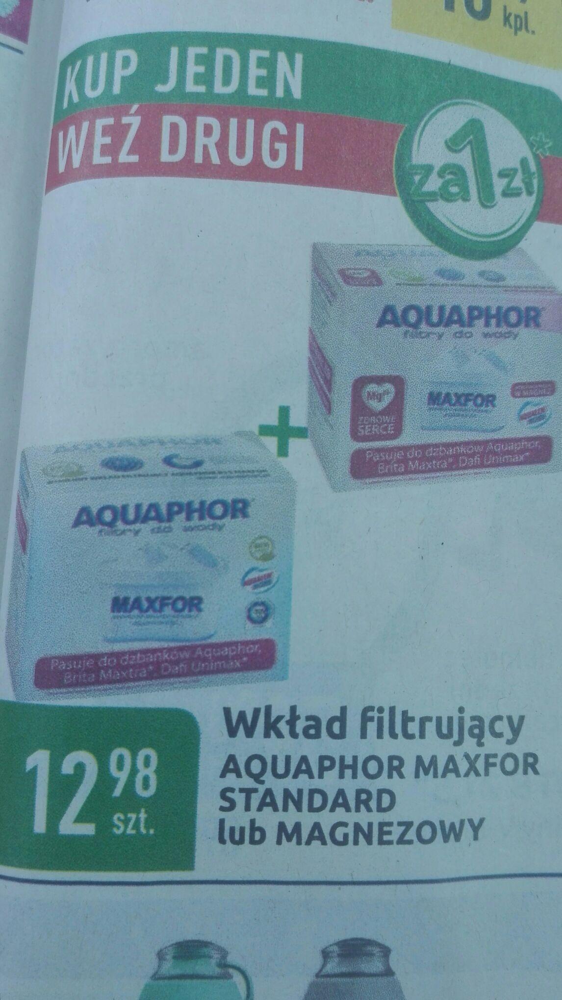 Filtr Magnezowy lub zwykły Aquaphor @ Carrefour