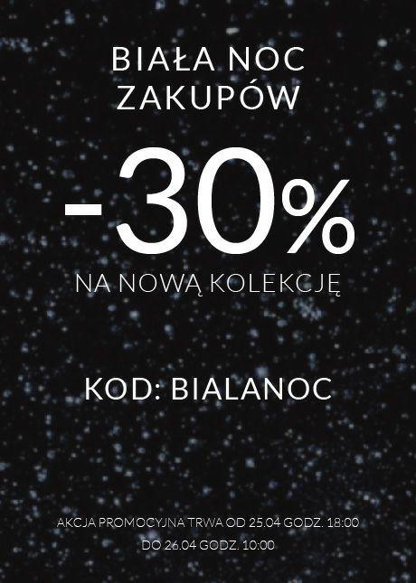 Biała noc - Top Secret - 30% na nową kolekcję