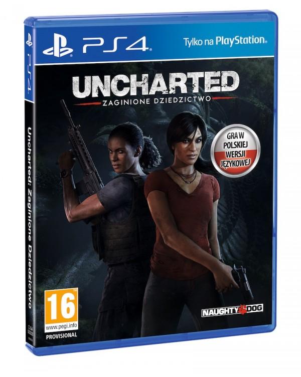 PS4 Uncharted: Zaginione dziedzictwo 64,99 z darmową dostawą