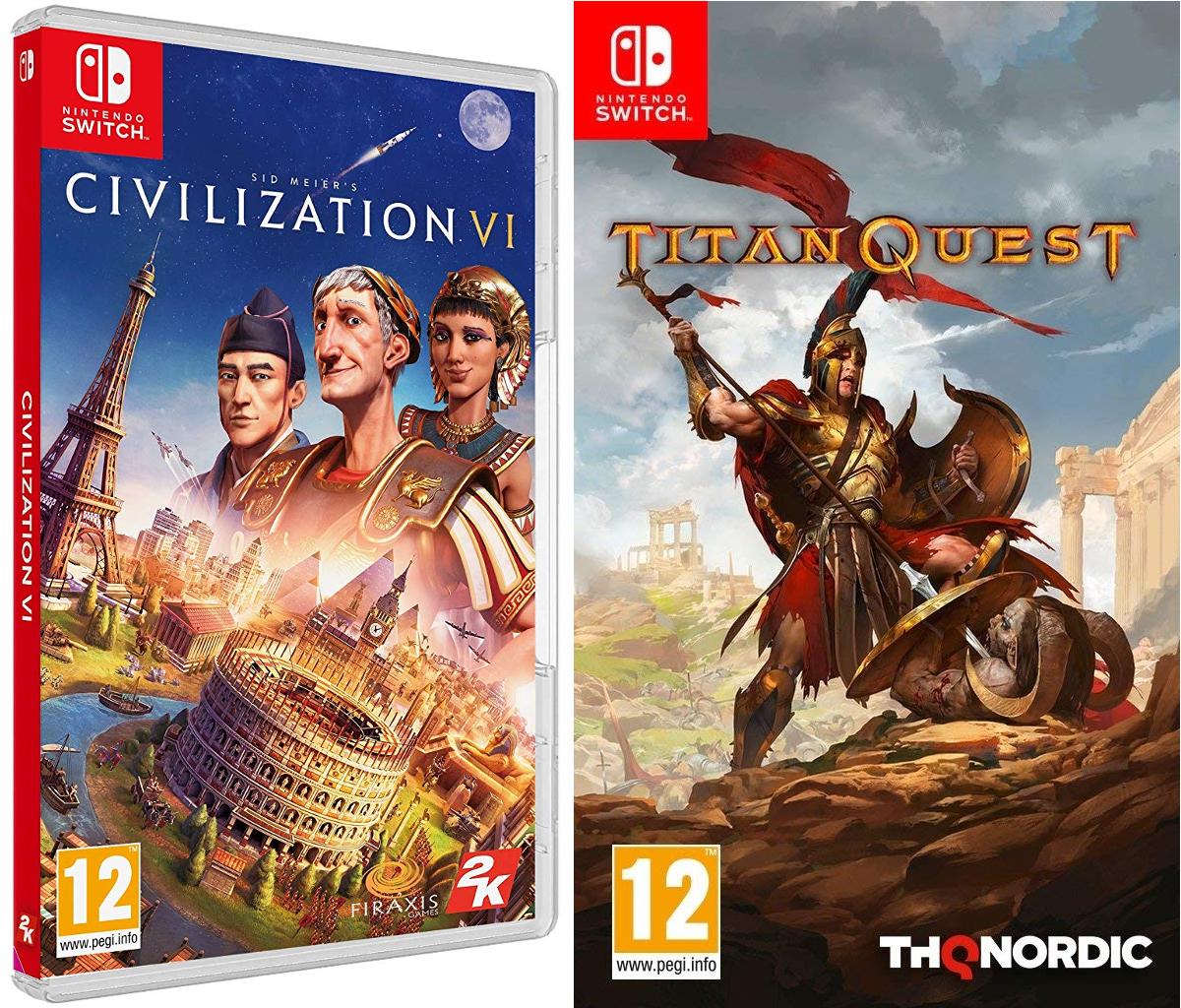 Civilization VI + Titan Quest / Nintendo Switch