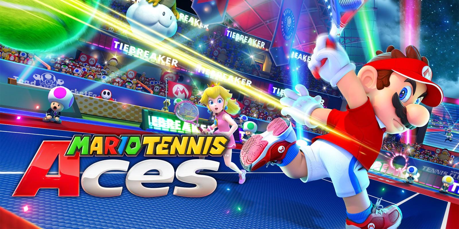 Demo Mario Tennis Aces + 7 dni Nintendo Online za darmo [Nintendo Switch]