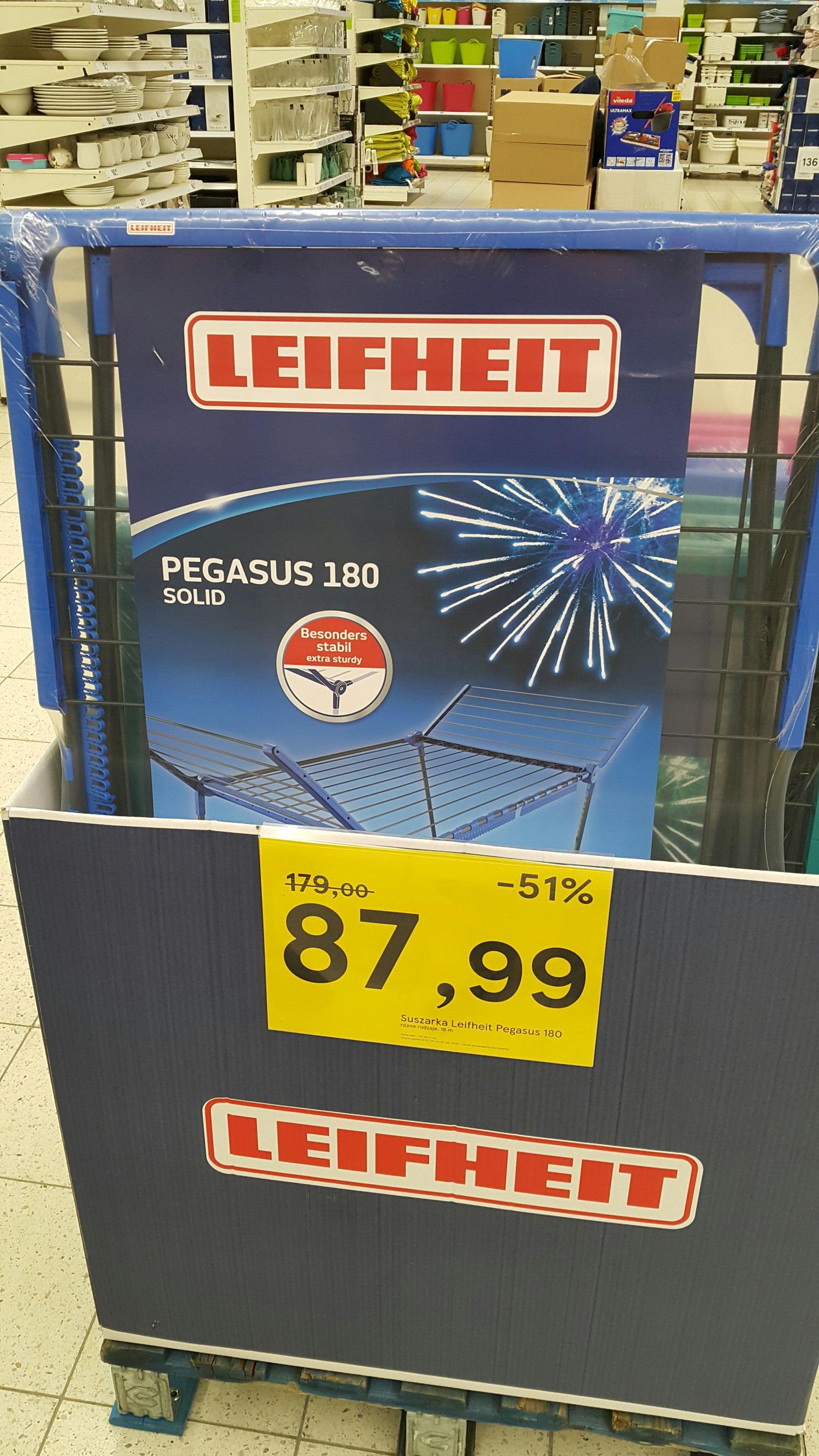 suszarka do prania Leifheit Pegasus 180 Solid