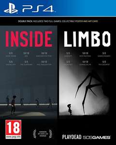 Inside/Limbo Double Pack PL PS4