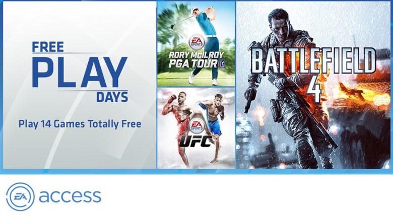 5 dni darmowego EA Access dla posiadaczy abonamentu Xbox Live Gold