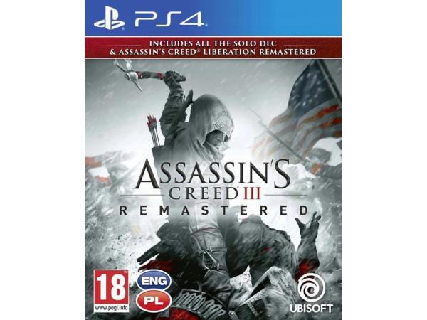 Assassin's Creed 3 + Liberation Remaster PS4