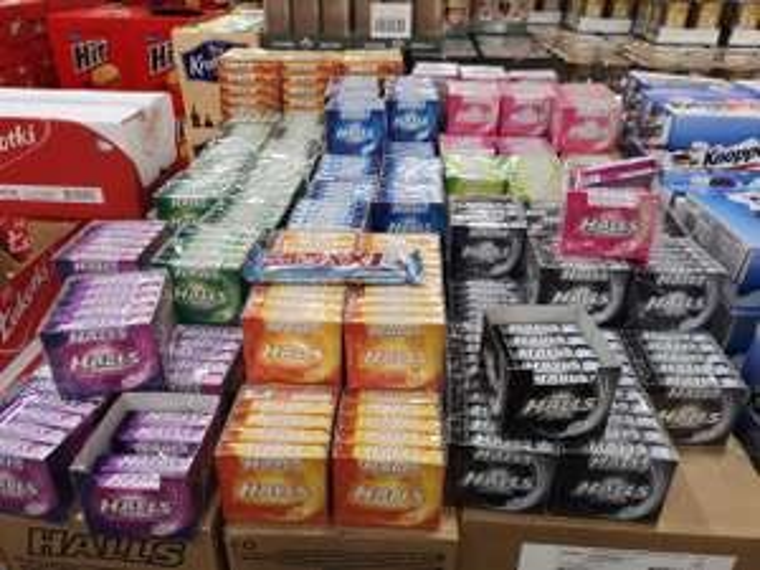 Cukierki Halls - wszystkie smaki