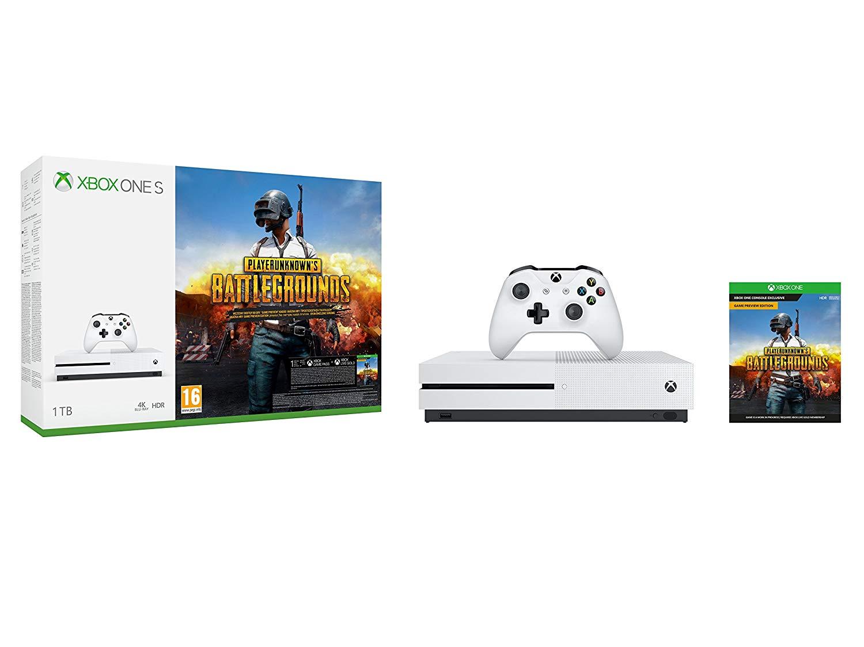 Xbox One S 1TB + Playerunknown's Battlegrounds @Amazon.fr