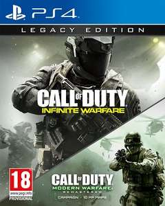 COD Infinite Warfare LE ANG PS4 folia + kod MW1