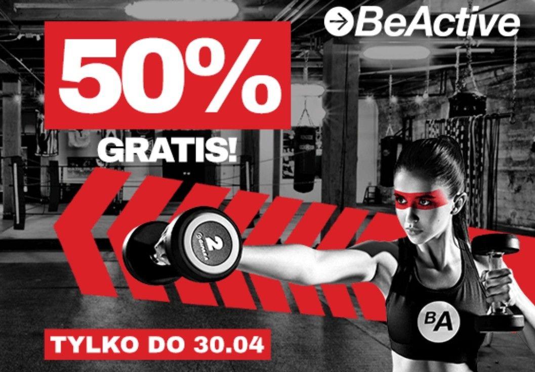 Promocja karta Beactive 50% gratis (2+1)