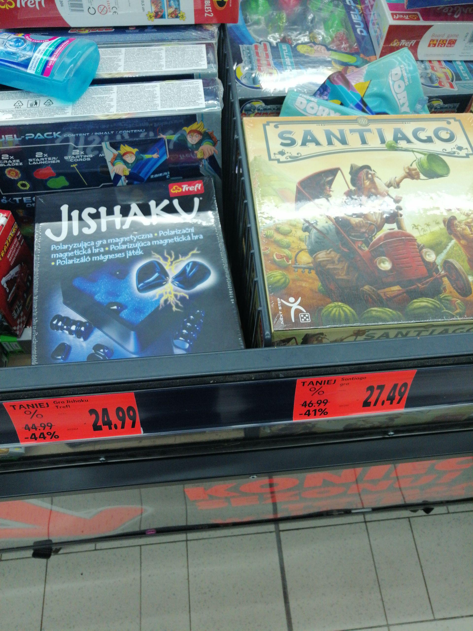Promocja na gry planszowe Trefl w Kaufland m.in. Santiago Jishaku