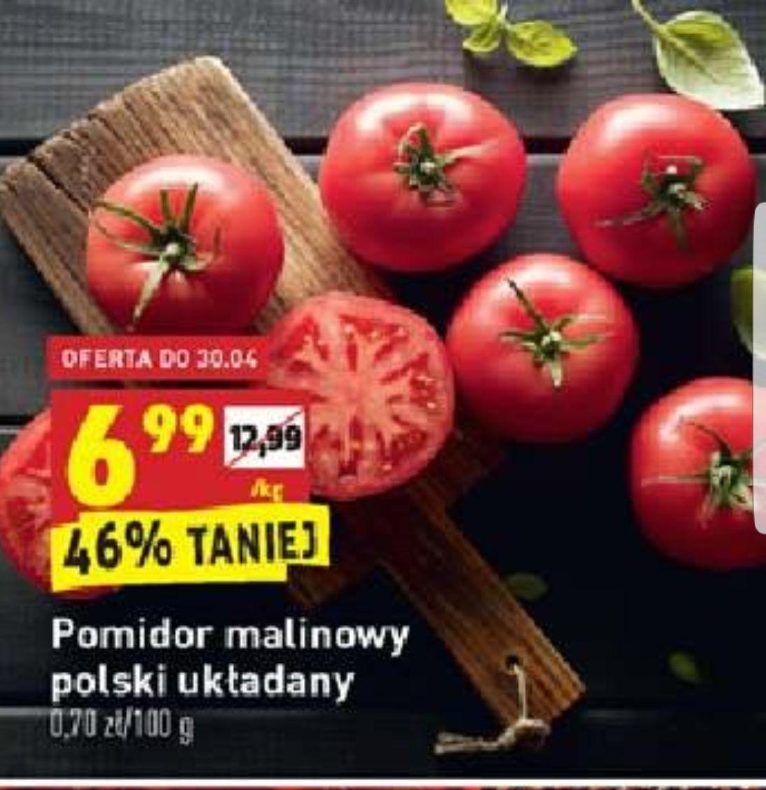 Pomidor malinowy w @ Biedronka