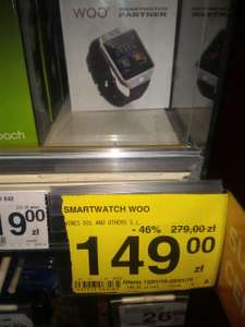 WOO Smartwatch 2G Partner w Carrefour