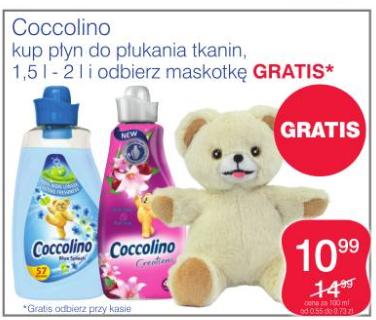 Maskotka GRATIS przy zakupie płynu Coccolino @ Superpharm