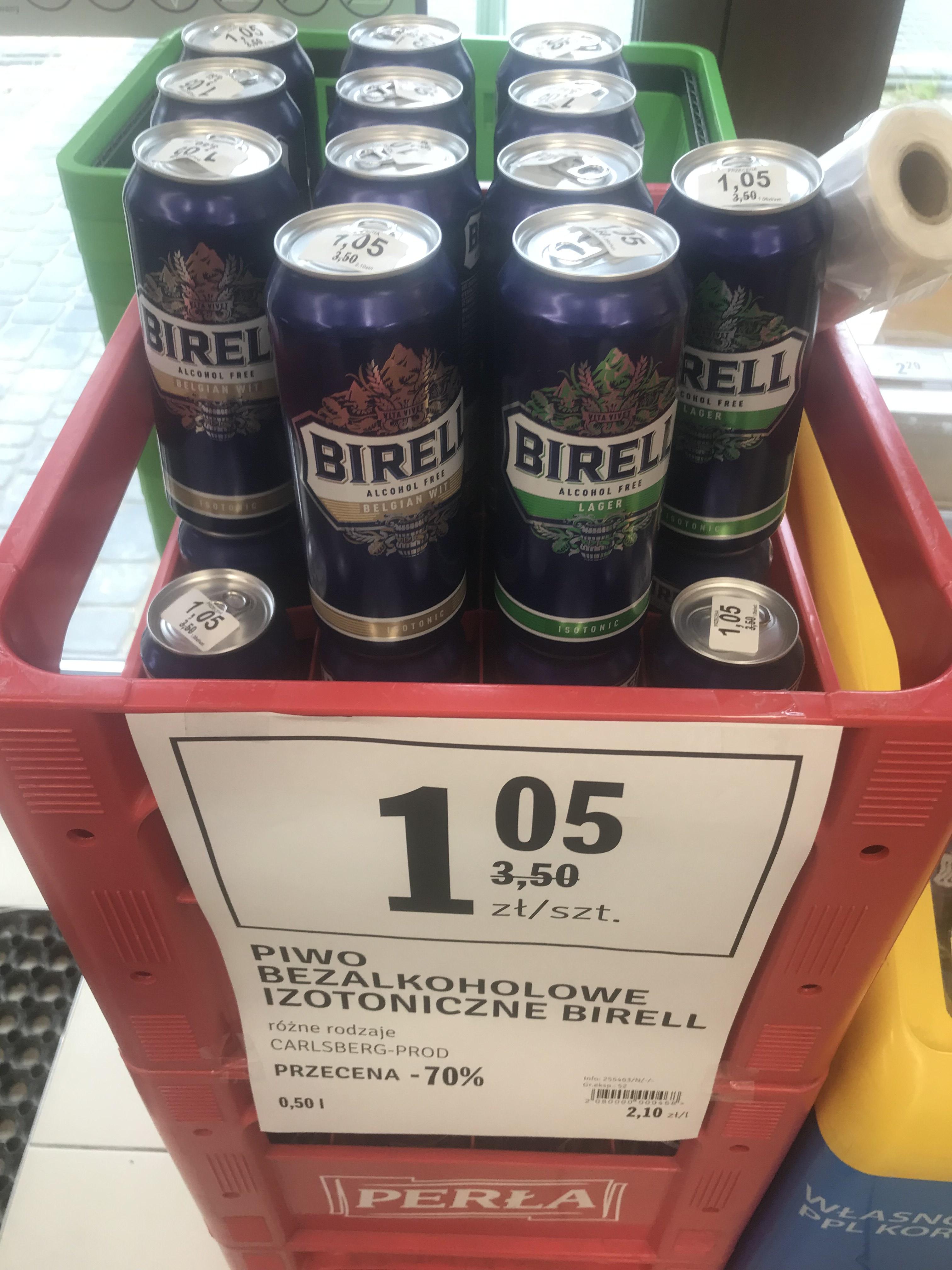 Bezalkoholowe piwo izotoniczne Birell