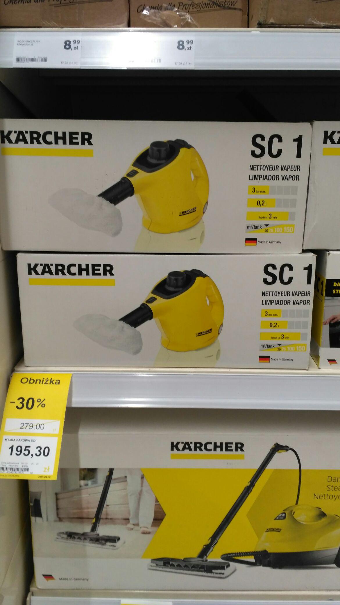 Myjka parowa Karcher SC1 Tesco Ruda Śląska
