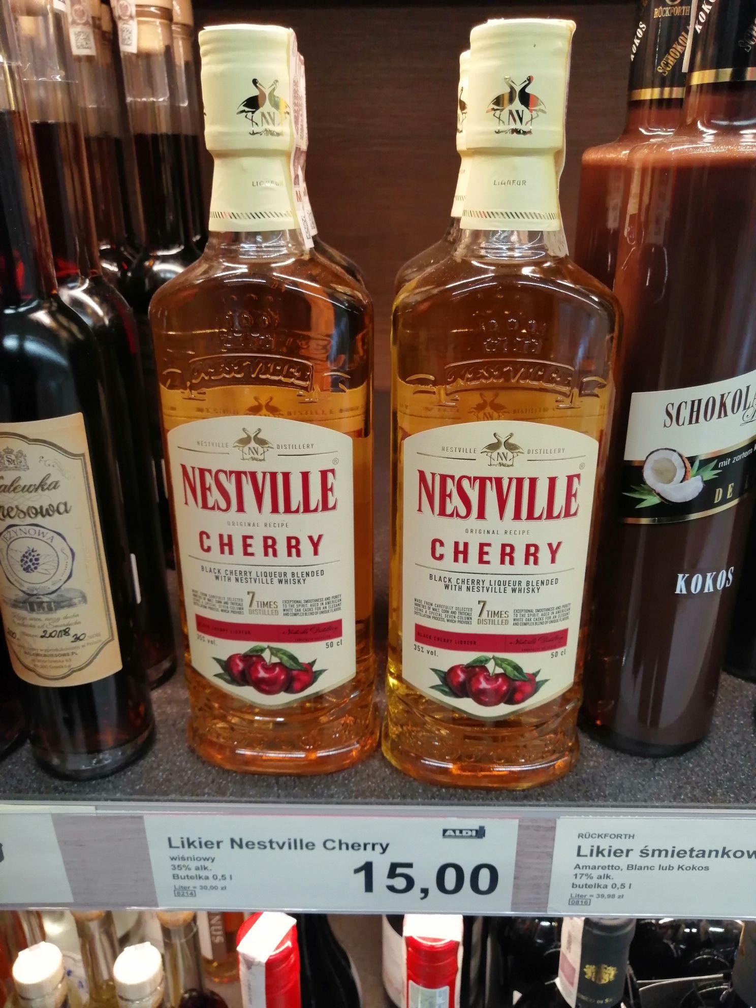 Likier Nestville Cherry 0,5 l. Aldi